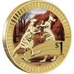 2012 YOUNG COLLECTORS ANIMAL ATHLETES – BOXING KANGAROO COIN