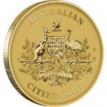 2012 Australian Citizenship $1 Coin