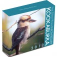 2012 Australian Kookaburra 1oz Silver High Relief Proof Coin