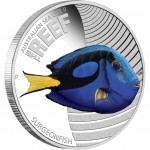 2012 Australian Sea Life II 1/2oz Silver Proof Coin - Surgeonfish