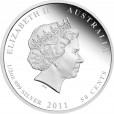 2011 Australian Sea Life II 1/2oz Silver Proof Coin - Starfish