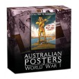 2014 Australian Posters of WWI 1oz Silver Coin Series - Enlistment