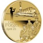 2014 Australian ANZAC Day $1 Uncirculated Coin