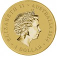 2014 Australian ANZAC Day $1 Uncirculated Coin