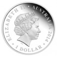 2014 Australian Mega Fauna Series 1oz Silver Coin - Genyornis