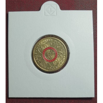 2016 $2 Olympic Red Coloured Coin