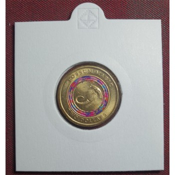 2017 $2 Possum Magic Hush Finds Tail Colored Coin