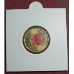 2018 $2 Centenary Of Armistice Coloured Coin