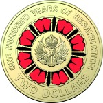 2019 $2 Repatriation Centenary Coin