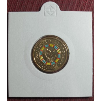 2019$2 Mr Squiggle Coloured Coin