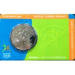 2006 Australian Commonwealth Games 50c Uncirculated Coin - Athletics