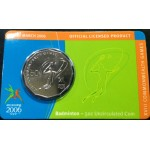 2006 Australian Commonwealth Games 50c Uncirculated Coin - Badminton