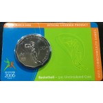 2006 Australian Commonwealth Games 50c Uncirculated Coin - Basketball