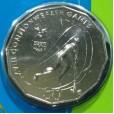 2006 Australian Commonwealth Games 50c Uncirculated Coin - Hockey