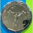 2006 Australian Commonwealth Games 50c Uncirculated Coin - Weightlifting