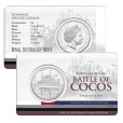 2014 Australia At War 50c Uncirculated Coin - Cocos Island