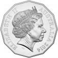 2014 Australia At War 50c Uncirculated Coin - Cocos Island