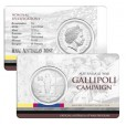 2014 Australia At War 50c Uncirculated Coin - Gallipoli Campaign
