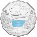 2015 50c Australian At War War in the Pacific Coin
