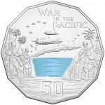 2015 50c Australian At War War in the Pacific Coin