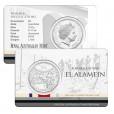 2015 50c Australia At War El Alamein Coin
