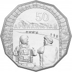 2016 Australian at War 50c Uncirculated Coin - Afghanistan