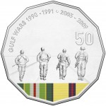 2016 Australian at War 50c Uncirculated Coin - Gulf War