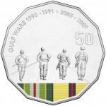 2016 Australian at War 50c Uncirculated Coin - Gulf War