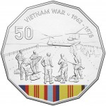 2016 Australian At War 50c Uncirculated Coin - Vietnam