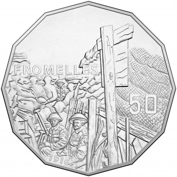 2016 50c The Battle of Formelles Uncirculated Coin