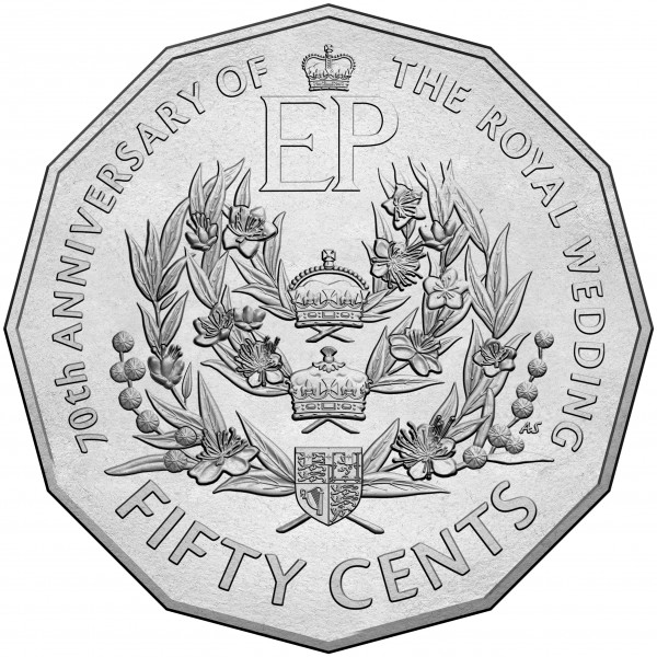 2016 Australia The Battle of Pozieres 50c UNC Carded Coin