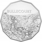 2017 Battle of the Western front 50c Uncirculated Coin - Bullecourt