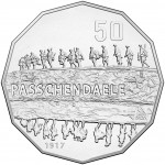 2017 Battle of the Western front 50c Uncirculated Coin - Passchendaele