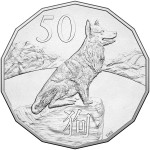 2018 Year of the Dog 50c Uncirculated Coin