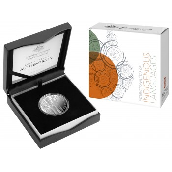 2019 50c International Year of Indigenous Languages Silver Proof Coin