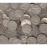 Australian 50% Silver 6-Pence x 50 Coins
