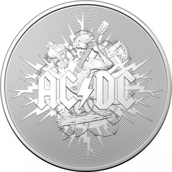 2020/2021 ACDC $1 Silver Uncirulated Coin
