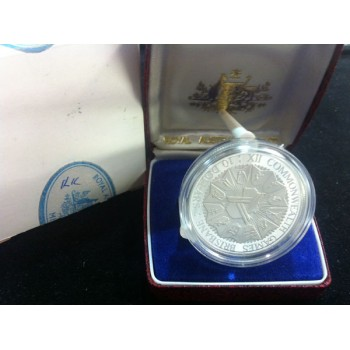 1982 Australian Brisbane Commonwealth Games $10 Silver Proof Coin