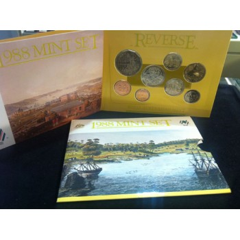 1988 Australian 8-Coin Uncirculated Set