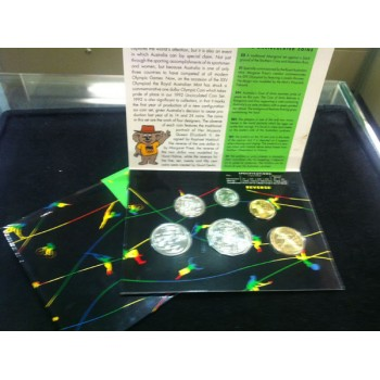 1992 Australian 6-Coin Uncirculated Set