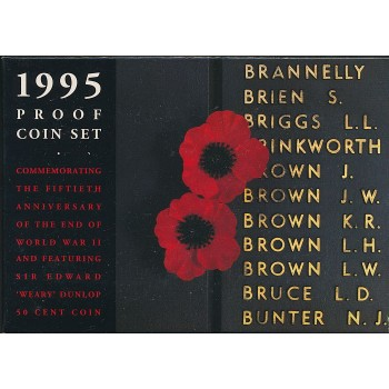 1995 Australian 6-Coin Proof Set