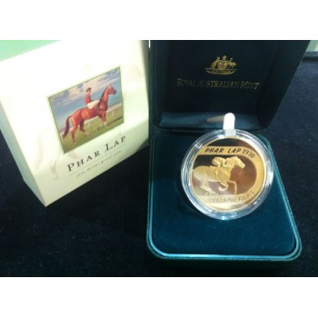 2000 AUSTRALIAN $5 PROOF COIN - PHAR LAP
