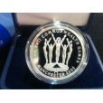 2002 COMMONWEALTH GAMES SILVER PROOF COIN