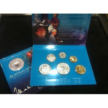 2003 Australian 6-Coin Uncirculated Set