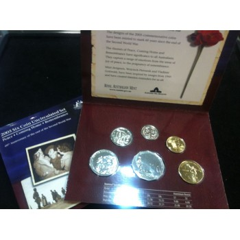 2005 Australian 6-Coin Uncirculated Set