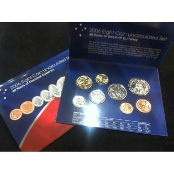 2006 Australian 8-Coin Uncirculated Set