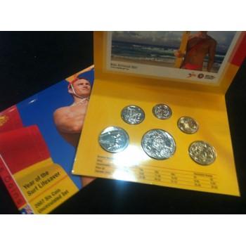 2007 Australian 6-Coin Uncirculated Set
