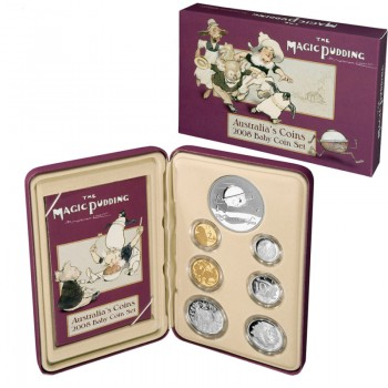 2008 AUSTRALIAN BABY PROOF 6-COIN SET