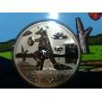 2008 Australian Artist Series Forsted Uncirculated Kangaroo Coin - Reg Mombassa