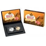 2012 Australian Wheat Fields of Gold 2-Coin Proof Set